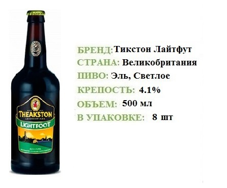 ПИВО THEAKSTON ТИКСТОН